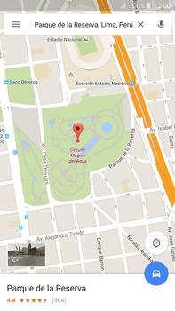 Uso de la navegación GPS - Samsung Galaxy Note 5 - N920 - Passo 9