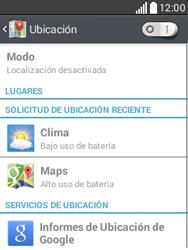 Uso de la navegación GPS - LG L20 - Passo 7