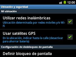 Uso de la navegación GPS - Samsung Galaxy Y Pro GT - B5510 - Passo 8