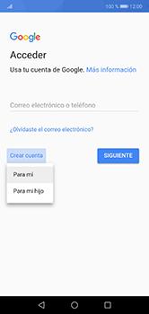 Crea una cuenta - Huawei P20 Lite - Passo 3