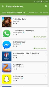 Instala las aplicaciones - Samsung Galaxy Note 5 - N920 - Passo 8