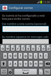 Configura tu correo electrónico - Samsung Galaxy Fame Lite - S6790 - Passo 21