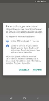 Uso de la navegación GPS - Samsung Galaxy S8+ - Passo 5