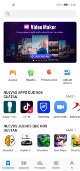 Instala las aplicaciones - Huawei P40 Lite - Passo 6