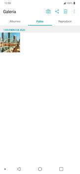 Transferir fotos vía Bluetooth - LG K50s - Passo 3