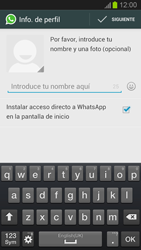 Configuración de Whatsapp - Samsung Galaxy S 3  GT - I9300 - Passo 8