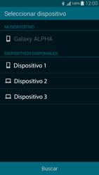Transferir fotos vía Bluetooth - Samsung Galaxy Alpha - G850 - Passo 10
