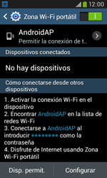 Configura el hotspot móvil - Samsung Galaxy Trend Plus S7580 - Passo 11