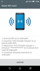 Configura el hotspot móvil - HTC One A9 - Passo 10
