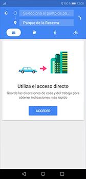 Uso de la navegación GPS - Huawei P20 - Passo 10