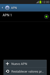 Configura el Internet - Samsung Galaxy Fame GT - S6810 - Passo 9