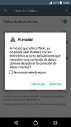 Desactiva tu conexión de datos - Sony Xperia E5 - Passo 5
