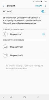 Conecta con otro dispositivo Bluetooth - Samsung A7 2018 - Passo 9