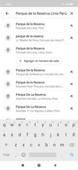 Uso de la navegación GPS - Xiaomi Redmi Note 7 - Passo 7
