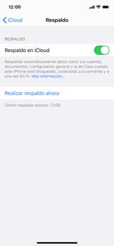 Realiza una copia de seguridad con tu cuenta - Apple iPhone 11 Pro - Passo 12
