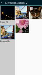 Envía fotos, videos y audio por mensaje de texto - Samsung Galaxy A3 - A300M - Passo 20