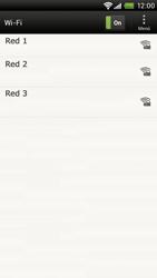 Configura el WiFi - HTC ONE X  Endeavor - Passo 6