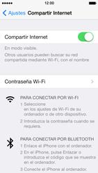 Configura el hotspot móvil - Apple iPhone 5s - Passo 8