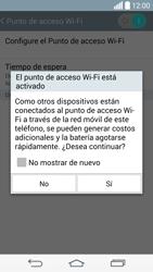 Configura el hotspot móvil - LG G3 D855 - Passo 10