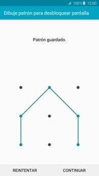 Desbloqueo del equipo por medio del patrón - Samsung Galaxy Note 5 - N920 - Passo 8