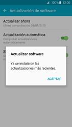 Actualiza el software del equipo - Samsung Galaxy S6 - G920 - Passo 10