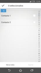 ¿Tu equipo puede copiar contactos a la SIM card? - Sony Xperia Z2 D6503 - Passo 7
