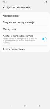 Modo silencio y vibración para mensajes - Samsung Galaxy A30 - Passo 6