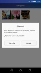 Transferir fotos vía Bluetooth - Huawei Y6 - Passo 10