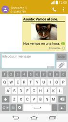 Envía fotos, videos y audio por mensaje de texto - LG G3 Beat - Passo 20