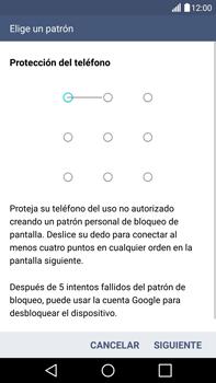 Desbloqueo del equipo por medio del patrón - LG V10 - Passo 7