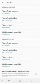 Opciones de la cámara - Samsung A7 2018 - Passo 9