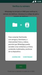 Configuración de Whatsapp - Motorola Moto C - Passo 5