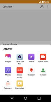 Envía fotos, videos y audio por mensaje de texto - LG G6 - Passo 13