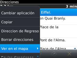 Uso de la navegación GPS - BlackBerry Bold 9720 - Passo 17