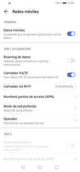 Desactiva tu conexión de datos - Huawei P30 Lite - Passo 4