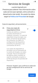 Configura tu correo electrónico - Samsung Galaxy A30 - Passo 13