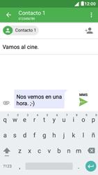 Envía fotos, videos y audio por mensaje de texto - Alcatel Pixi 4 5 - OT5045 - Passo 12