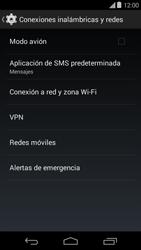 Configura el hotspot móvil - Motorola Moto E (1st Gen) (Kitkat) - Passo 5