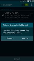Conecta con otro dispositivo Bluetooth - Samsung Galaxy Alpha - G850 - Passo 7