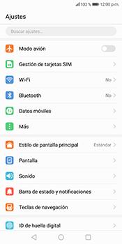 Comparte la conexión de datos con una PC - Huawei Mate 10 Lite - Passo 3