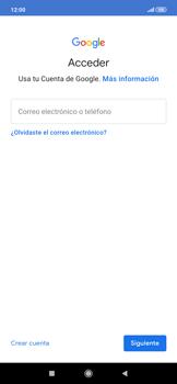 Crea una cuenta - Xiaomi Redmi Note 7 - Passo 3