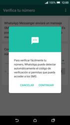 Configuración de Whatsapp - HTC One A9 - Passo 10