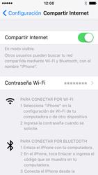 Configura el hotspot móvil - Apple iPhone SE - Passo 8