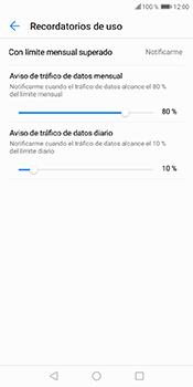 Desactivación límite de datos móviles - Huawei Y6 2018 - Passo 9