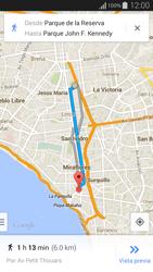 Uso de la navegación GPS - Samsung Galaxy Alpha - G850 - Passo 16