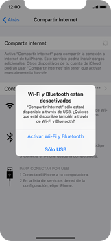 Comparte la conexión de datos con una PC - Apple iPhone XS - Passo 7