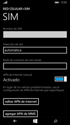 Configura el Internet - Microsoft Lumia 640 - Passo 11