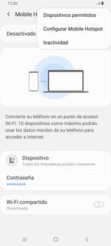 Configura el hotspot móvil - Samsung Galaxy A80 - Passo 8
