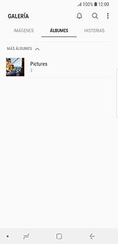 Transferir fotos vía Bluetooth - Samsung Galaxy S9 - Passo 6