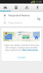 Uso de la navegación GPS - Samsung Galaxy Trend Plus S7580 - Passo 10